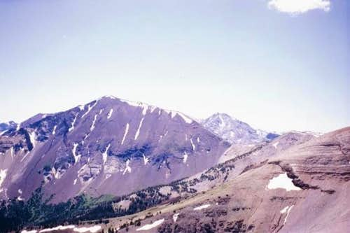 Hurwal Divide from east ridge...