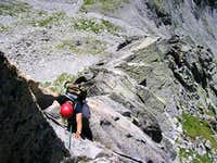 Balzet south ridge