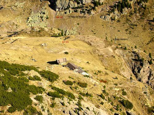 Bivacco ANA ai Mangheneti: view from Monte Cadino