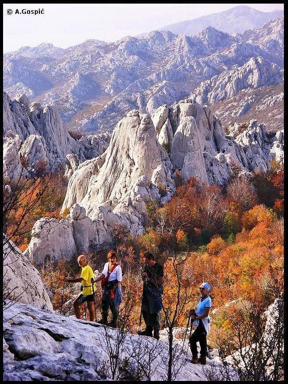 Bablji smjer (Grandma's route) on Bojin Kuk