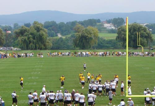 The Laurel Highlands from Steeler Training Camp
