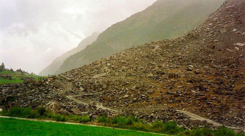 The 1991 Randa rockslide