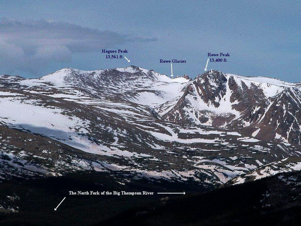 Hagues Peak & Rowe Peak
