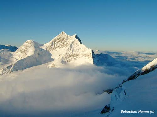 Over the clouds - Jungfrau