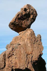 Balancing Rock on East Side of Superstition