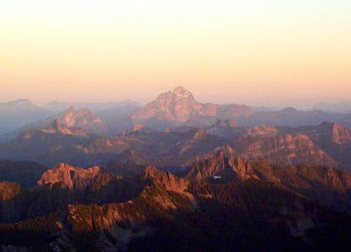 Sloan Peak Alpenglow