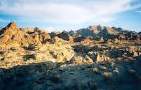 The Coxcomb Mountains
