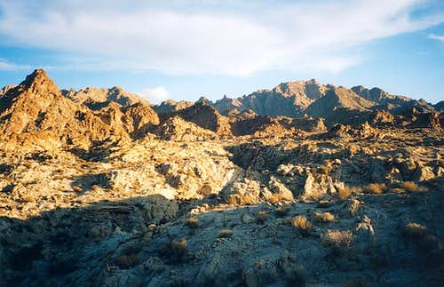 The Coxcomb Mountains