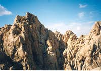 Coxcomb peaks