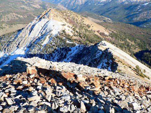 East Ridge of Croesus Peak