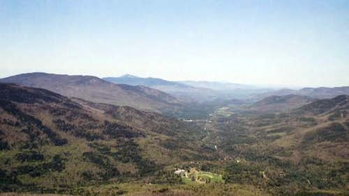 The Keene Valley from...