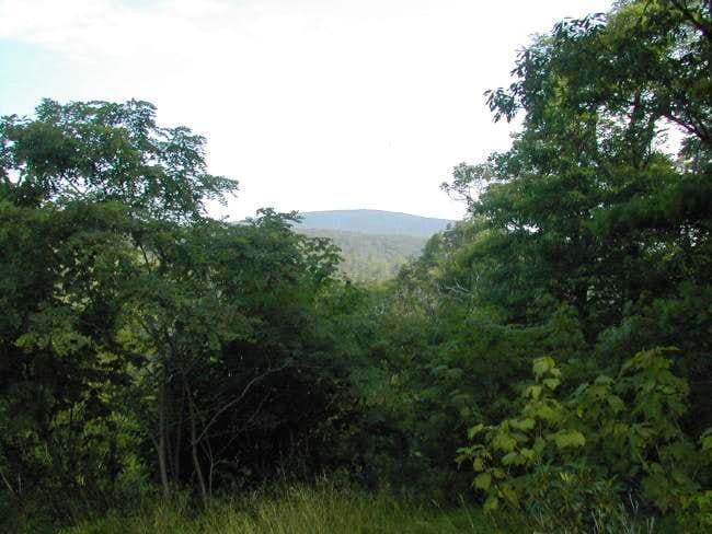 Cow Knob as seen from the...