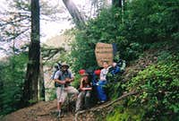 The rest of the crew / Ventana Wilderness