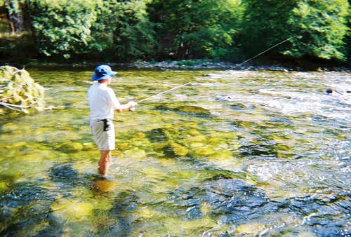 Fishing the Golden Trout Wilderness