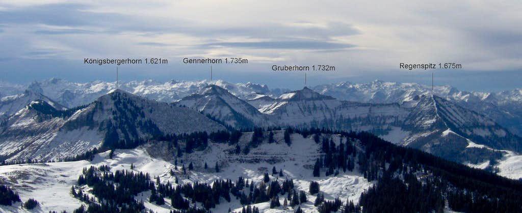 Zwoelferhorn, 1.522m