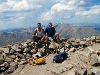 On the Summit of Elbert!