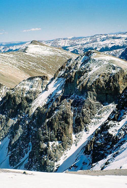 The Distant Goal from Handies Peak