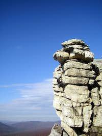 West facing climb