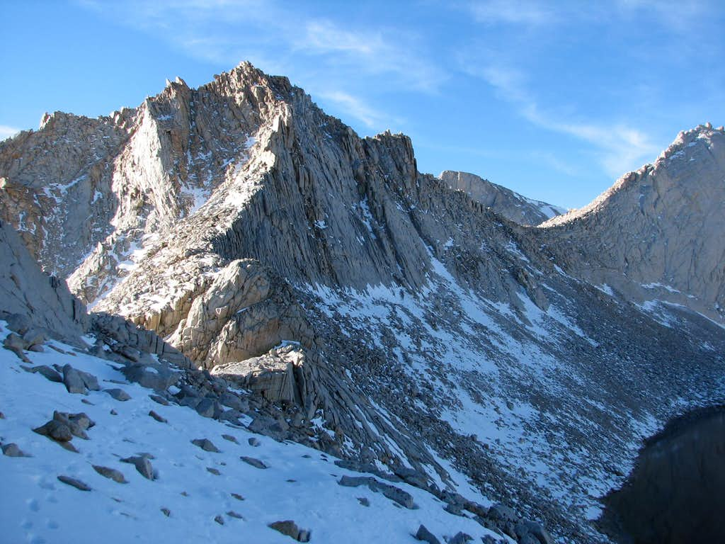 West Side of Cleaver Col