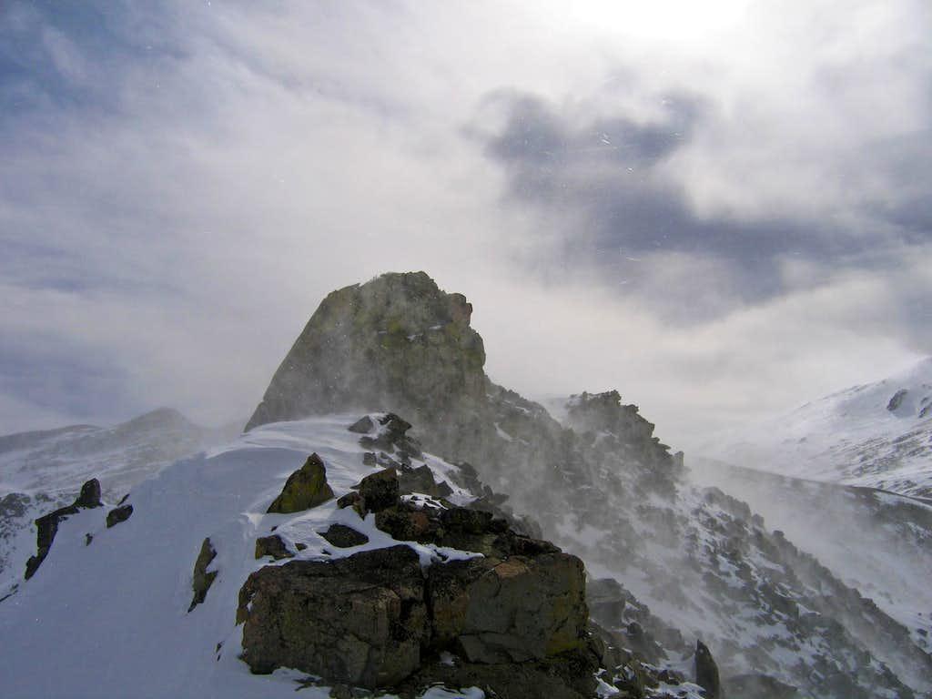 Evans/Dyer ridge