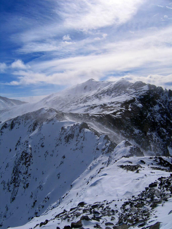Dyer/Evans ridge