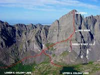 Ellingwood Arete approach and...
