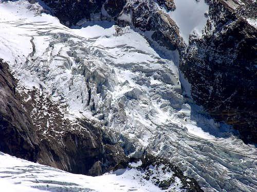 Il ghiacciaio del Castore