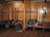 Cayambe refuge bunks