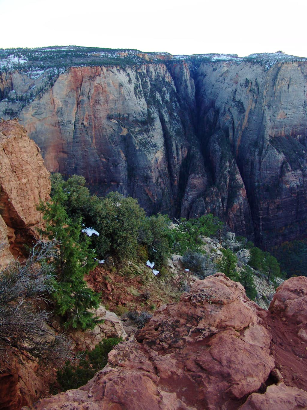 The shadows of Hidden Canyon