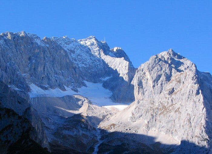 Zugspitze and Glacier