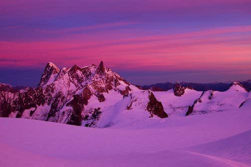 Deserted on the Col du Midi