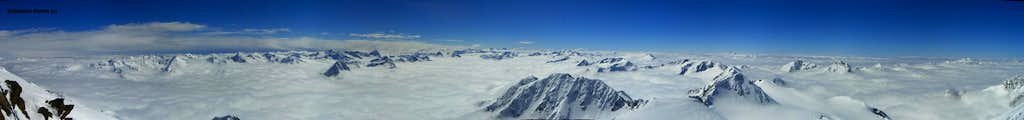 270° Pano  - Sea of clouds