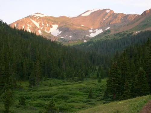 Pettingell Peak (13,553-ft)...