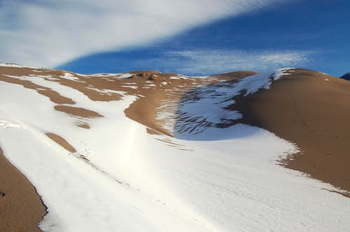Sand, Snow, Clouds, and Shadows