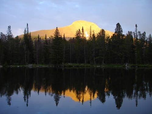 Park Fork Lake Reflection