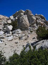 The summit block of Fletcher...