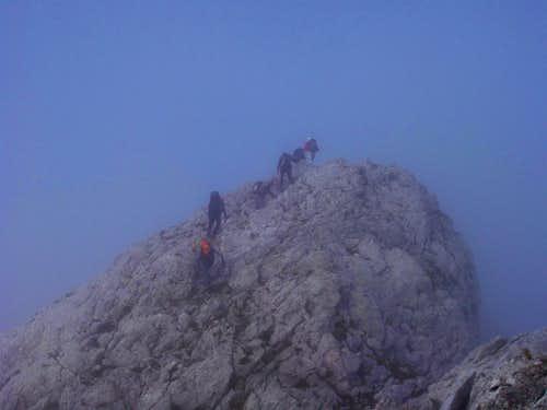 The highest summit in Gipuzkoa