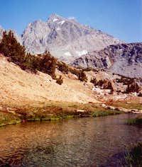 Below Bishop pass August 2000