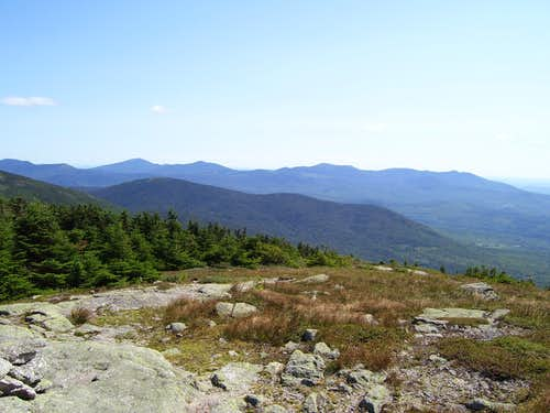 Sugarloaf, Spaulding, Abraham, from the Summit of Saddleback Mountain