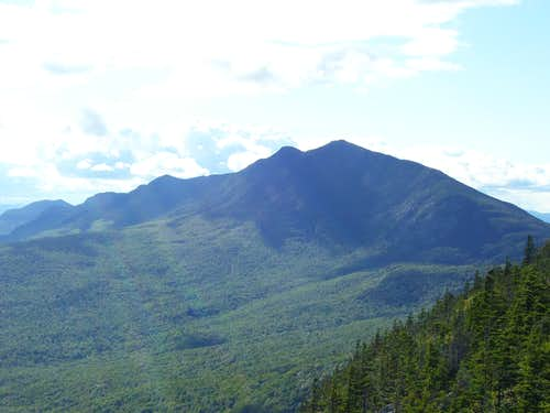 The Andes of Maine- The Bigelow Range as viewed from Little Bigelow