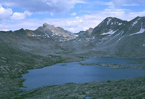 Wanda Lake and Muir Pass,...