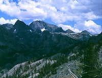 Mt. Goddard from Goddard...