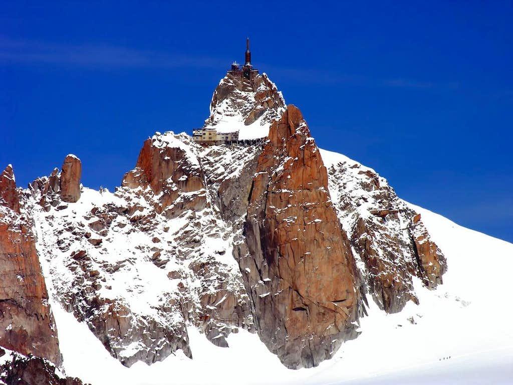 L'aiguille du Midi (3842 m)