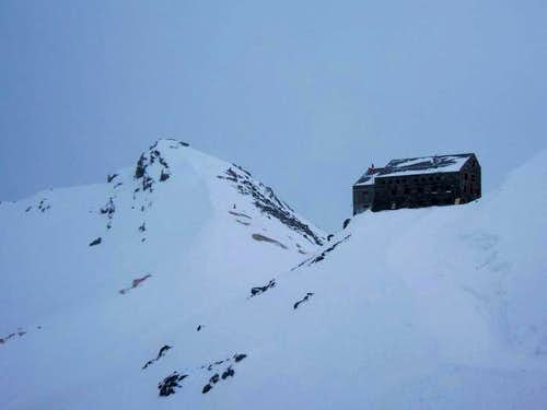 Klein Allalin and Britannia hut