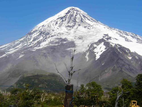 An splendorous mountain