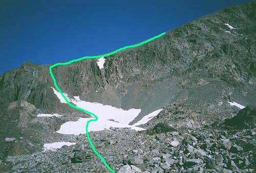 Southwest Ridge/West Chute