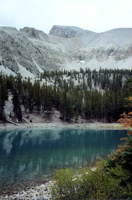 Peak and Stella lake, the...
