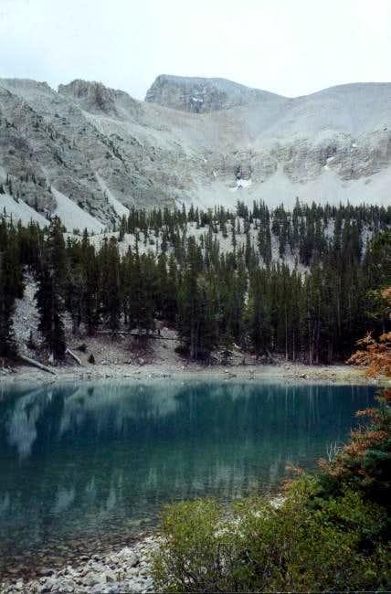 Peak and Stella lake, the...