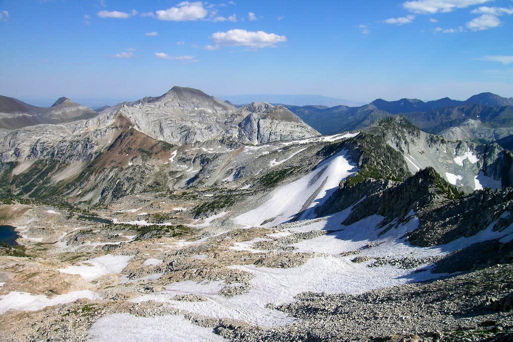 Cusick from Glacier Peak