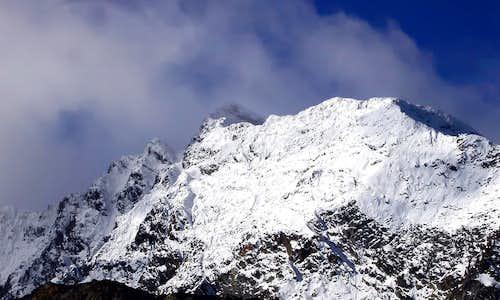 Il Paramont (3301 m), versante est
